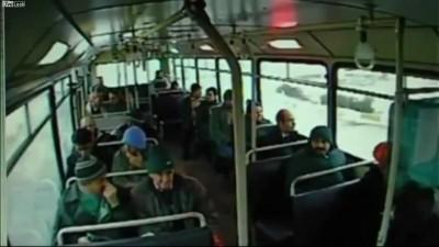 Страшные кадры из салона пассажирского автобуса