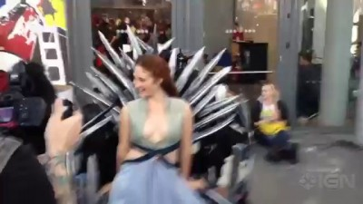 The Most Badass Game of Thrones Cosplay of All-Time - NY Comic Con 2013