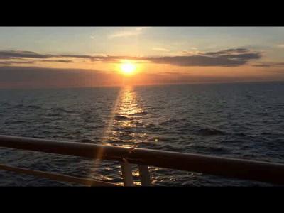 Закат с палубы Liberty
