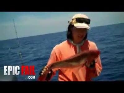 Пощечина рыбаку
