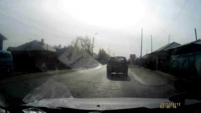 ДТП в Омске на пешеходном переходе по ул. Михаила Леонова.