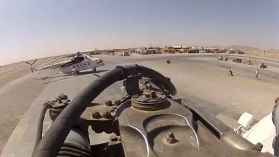 GoPro на лопастях ми-8