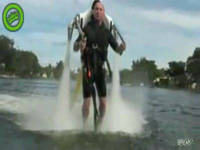 Amazing New Water-Powered Jet Pack Video
