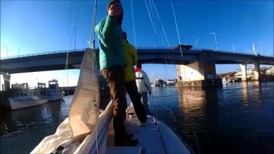Яхтинг - первый день сезона (boating day 1)