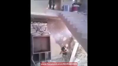 Epic Mortar Prank On Smartphone Dude
