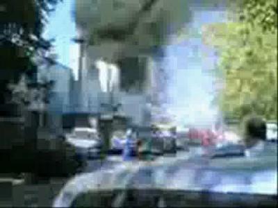 Пожар в автосалоне