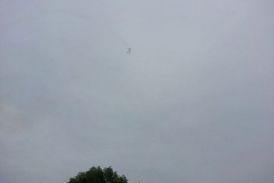 9 мая 2014 Воздушный парад. Севастополь