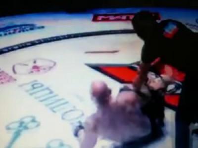 Jeff Monson vs. Donald Njatah Nua. Mix Fight Combat Khimki. Russia.12.25.2015