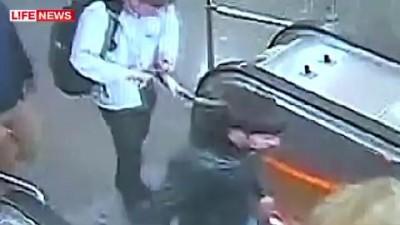 Избитый в метро журналист первым достал нож