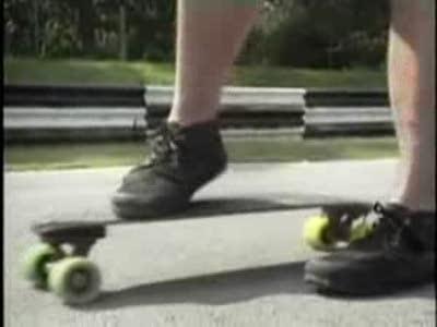Слалом на скейте