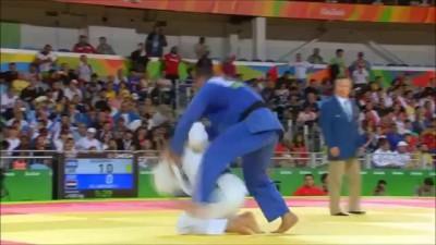 Un judoka égyptien refuse de serrer la main de son adversaire (Islam El Shehaby) JO 2016