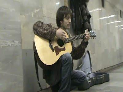 Novosibirsk Kurt Cobain cover Pennyroyal Tea