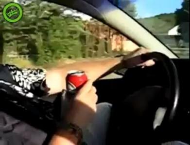 Лучший способ попить пивка за рулем