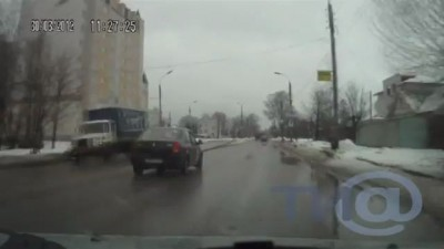 Стрельба на дороге
