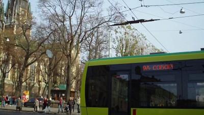 Львовский трамвай.(Местного производства. :)  )