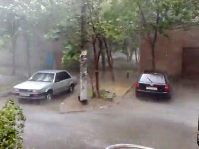 Дождь в Одессе 09.07.2010