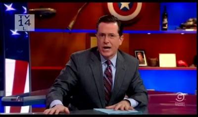 """Бешеные пёзды в передаче """"The Colbert Report"""""""