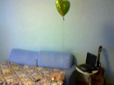 Кот и шар