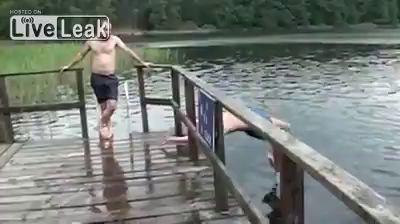 Сальто в воду