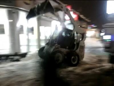 Сборщик снега 80lvl