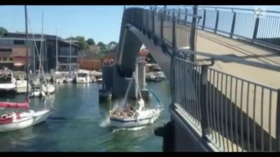 Парусник vs мост .