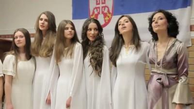 «Русиjа моjа љубимаjа» - Сербские девочки-красавицы поют о России