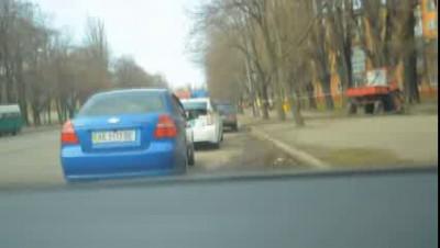 ДПС убегает от водителя