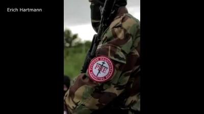 Неофашисты России воюют за террористов в Славянске Донецк