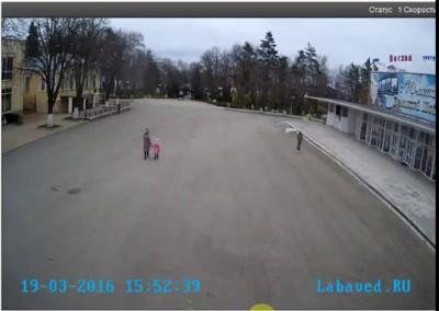 В Лабинском ЗАГСе сорвало крышу 19 03 2016