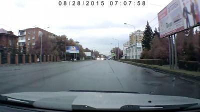 Авария на перекрестке ул. Булатова и ул. Орджоникидзе
