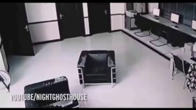 Poltergeist attacked a woman in a hotel