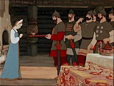 Сказка о мёртвой царевне и семи богнатырях