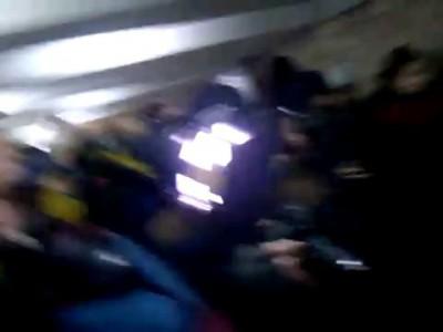 Борис Гребенщиков выступил в минском переходе