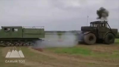 Крутой трактор Кировец K700 рвет всех. Cool tractor Kirovets K700. Traktor Kirovets K700