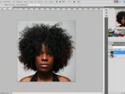 CS5: Как вырезать волосы объект человека в фотошопе