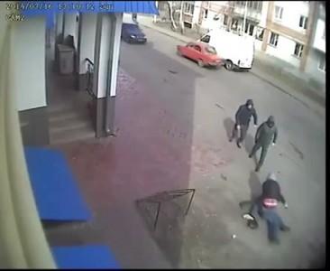 Покушение радикалами на убийство Главы Миргорода[19/03/2014]