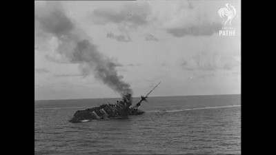 HMS Barham Explodes and Sinks (1941)