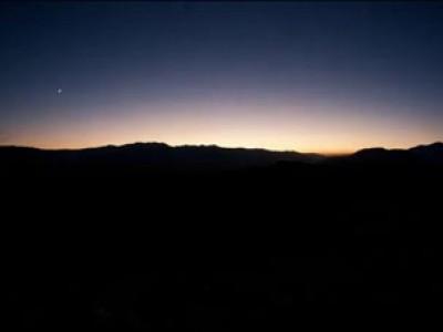 Самолёты в ночном небе