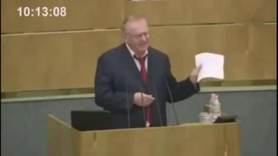 Жириновский о чурках