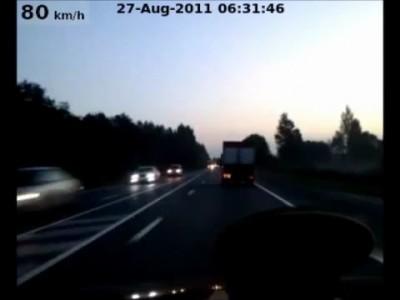 Не заметил грузовик