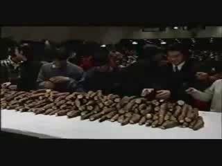 Соревнование китайских любителей попукать.)))