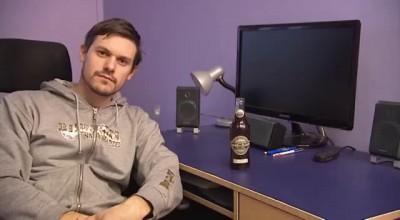 Чудесный способ открыть пиво