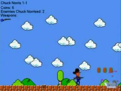 Чак норрис в мире Марио