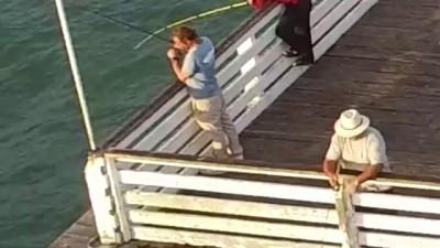Drone Fisherman