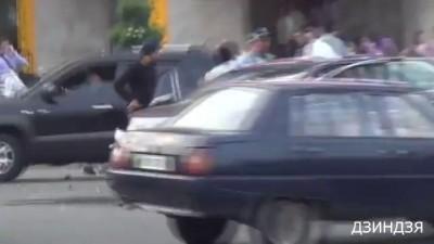 Журналиста ударили, милиция не реагирует