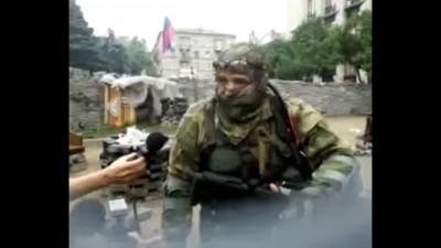 Донецк интервью с бойцом батальона восток (1часть) 29 05 2014