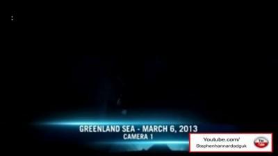 В Гренландском море при погружении сняли на видео... ихтиандра