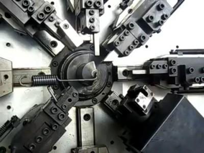 ES50-8A MAX CNC Spring forming machine