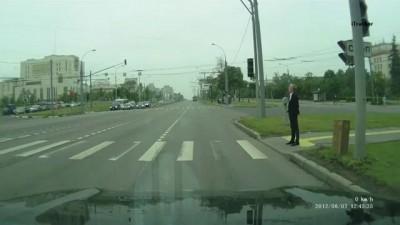 Видео от виновника