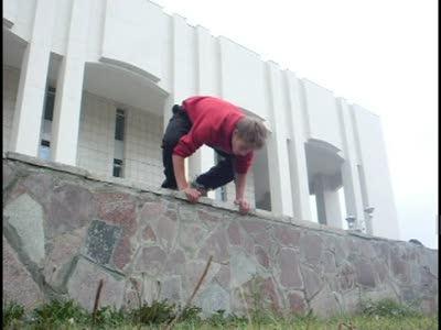 Паркур в Кудымкаре
